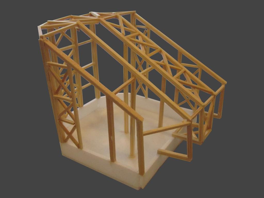 constructie maquette